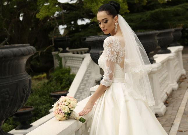 abito sposa castello