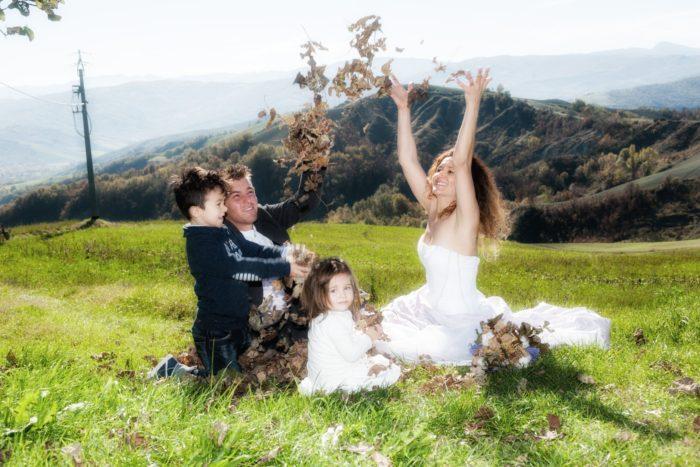 sposi famiglia