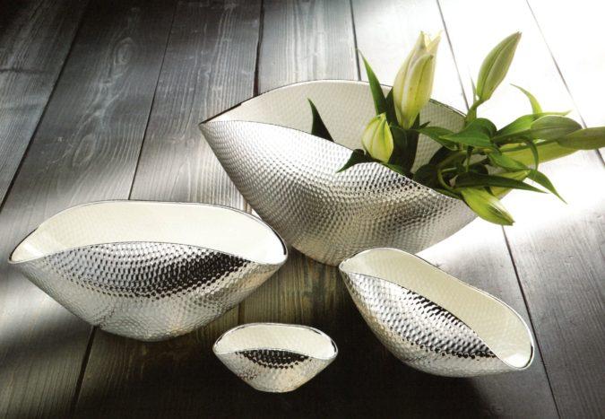 Pochette vetro e argento 925