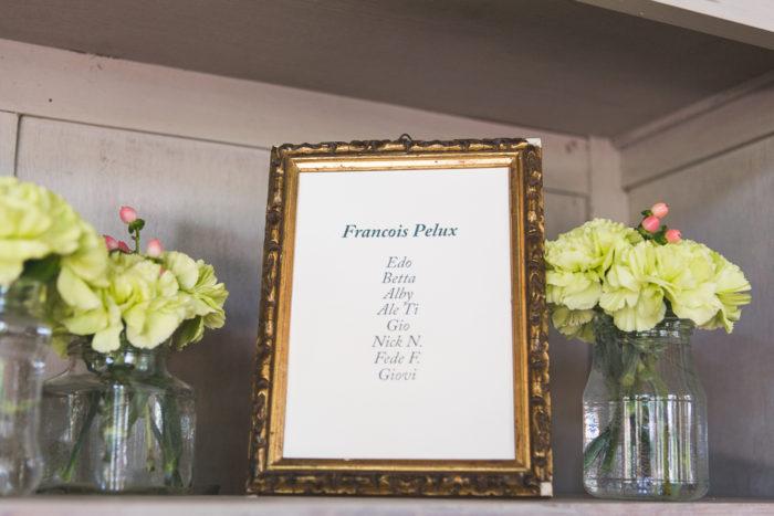 Dettaglio tableau de mariage