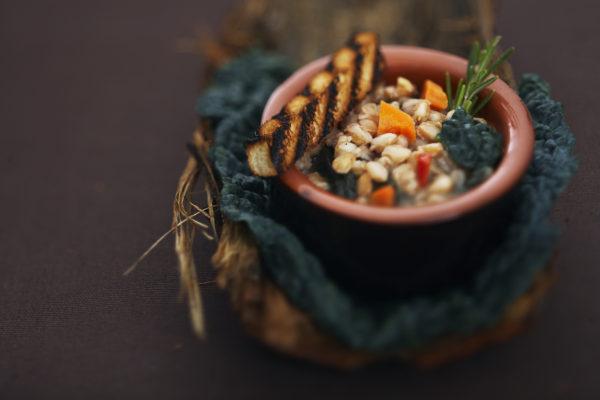 Ribollita e verdure