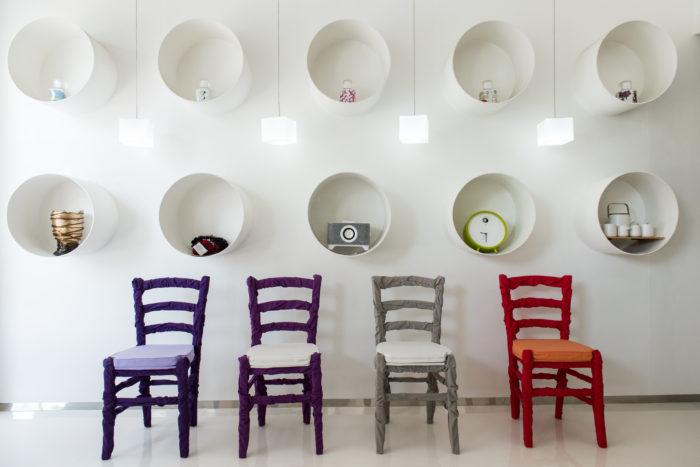 Le sedie di Filippo Gezzani
