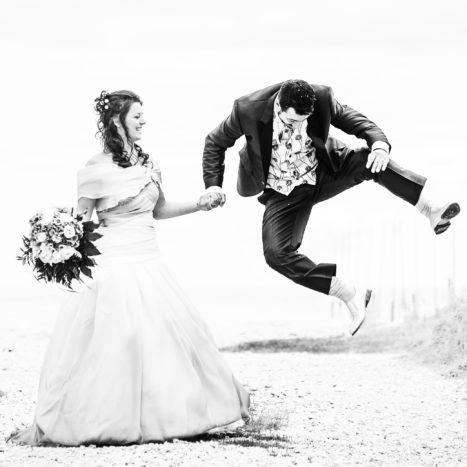 la felicità dello sposo