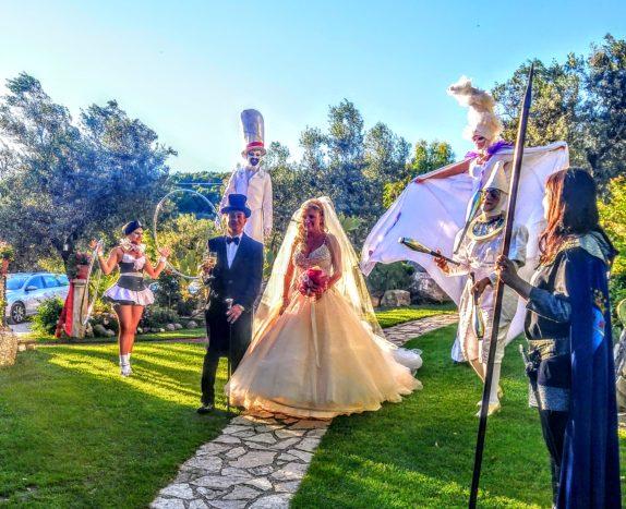 accoglienza ospiti sposi