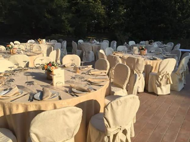 tavolo in villa