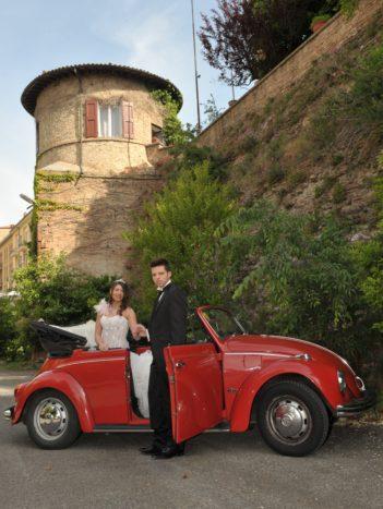 Sposi con Maggiolino