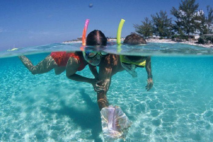 Diving a Bahamas