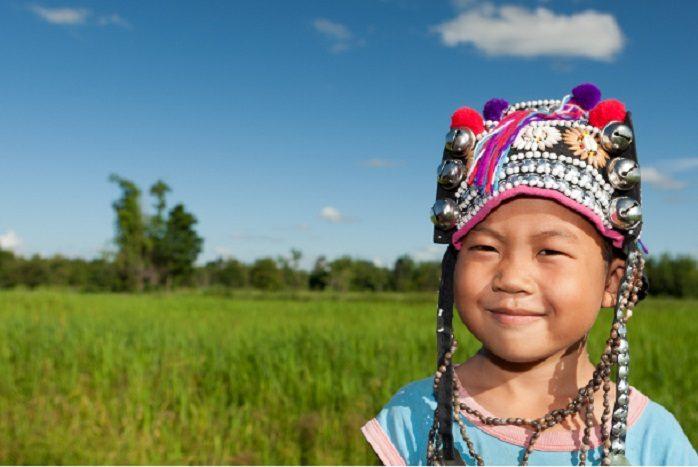 Bambino Thailandese