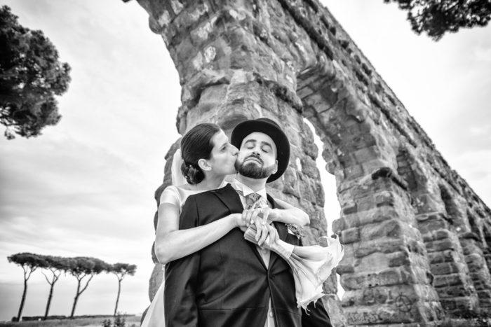 Ritratto di coppia a Roma