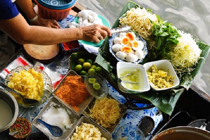 Bangkok - Mercato Galleggiante