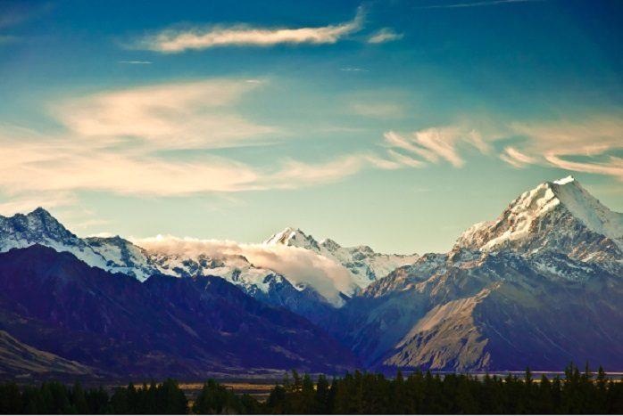 Nuova Zelanda - Monte Cook