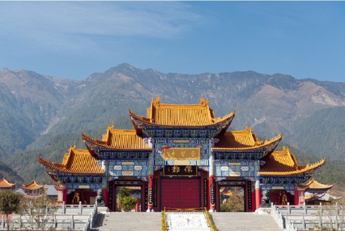 Cina - Tempio Chong Sheng