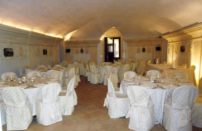 Cena sala degli stucchi