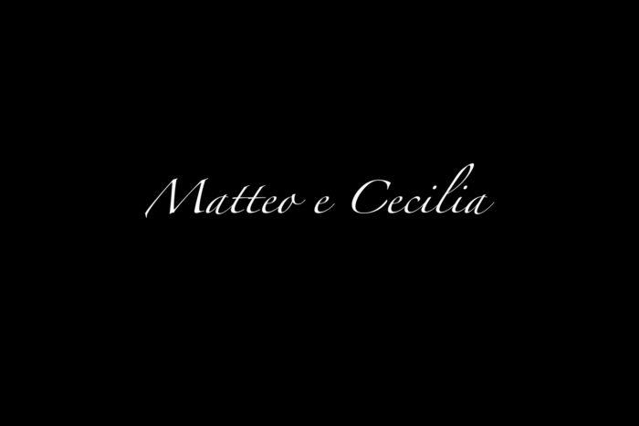 Matteo e Cecilia
