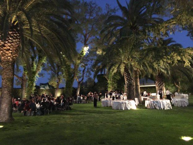 Matrimonio in villa a Roma