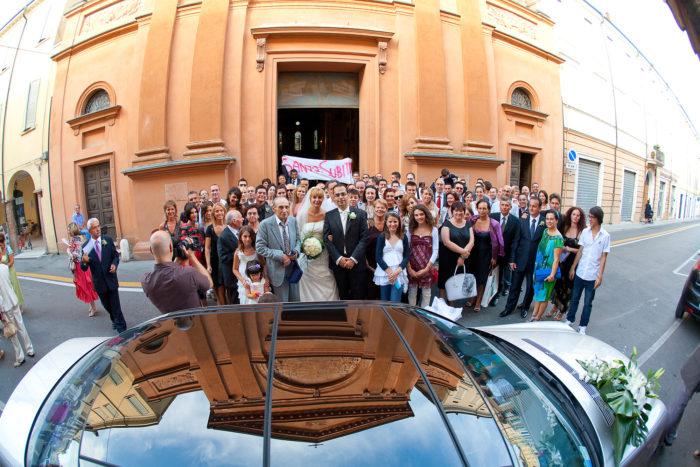 gruppo davanti alla chiesa