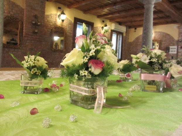 vasetti vari tavolo imperiale