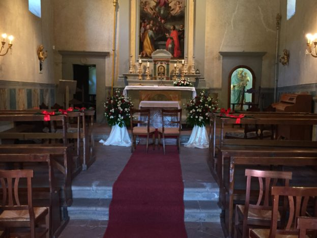 ...o in chiesa...