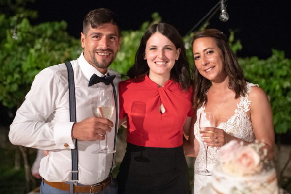 Noemi Wedding con sposi