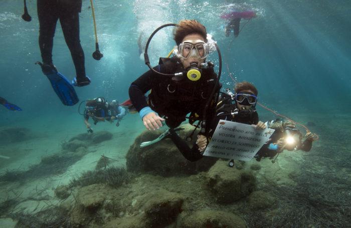 Matrimonio subacqueo Sardegna