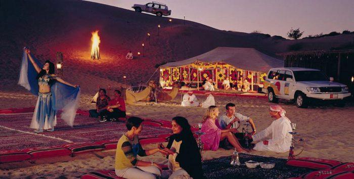 Dubai cena nel deserto