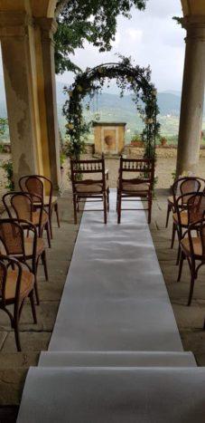 cerimonia sotto portici