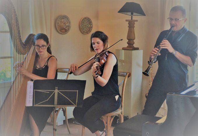 Trio Arpa Violino Clarinetto