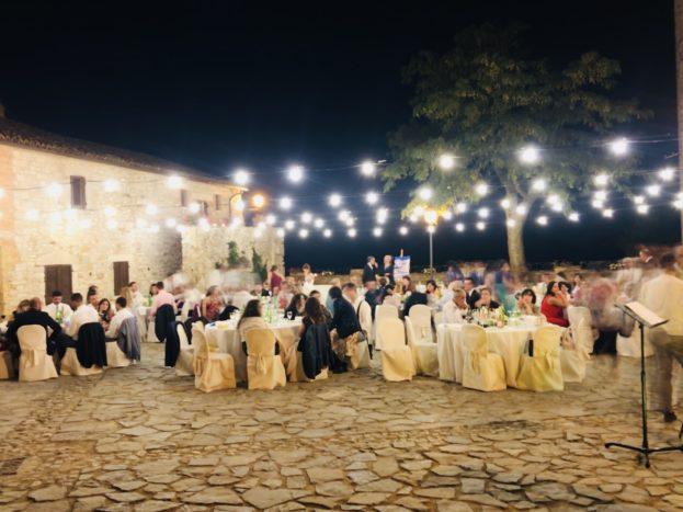 Wedding in piazza