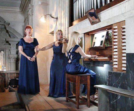 Trio Soprano Violino Organo