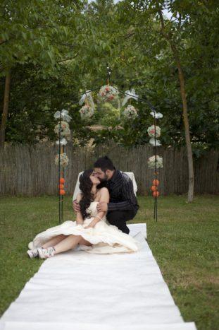 Sposi e arco