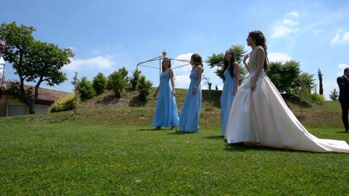 foto sposa e damigelle 3