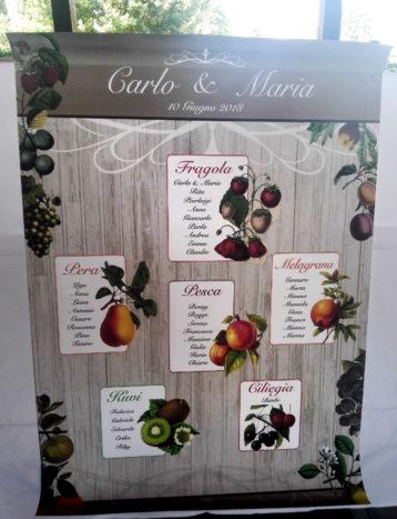 tableau frutta