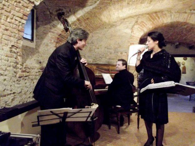 Aperitivo in trio, Villa Bossi