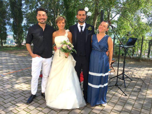 Con Alessandra e Claudio, 9/18
