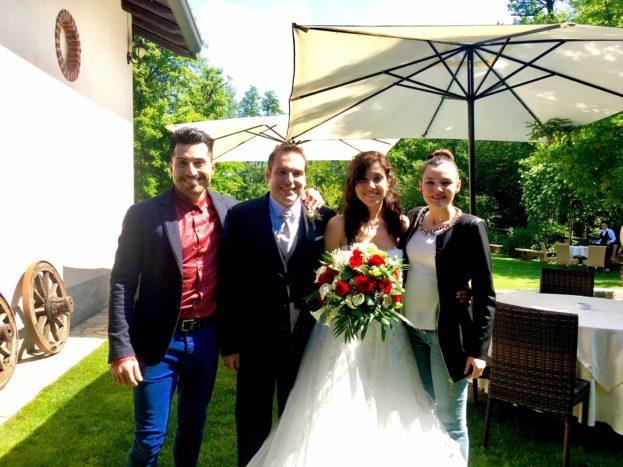Con Elena e Simone, 5/18
