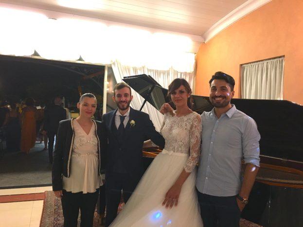 Con Erika e Federico