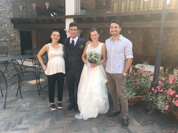 Con Irene e Massimiliano, 9/18