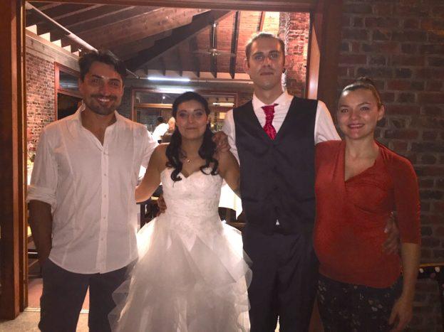 Con Lorena e Ilario, 9/18