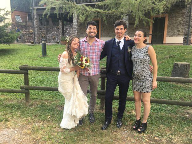 Con Serena e Davide, 6/18
