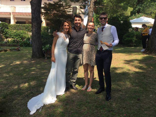 Con Silvia e Joshua, 7/18