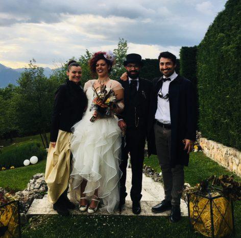 Con Teresa e Gianluca, 5/18