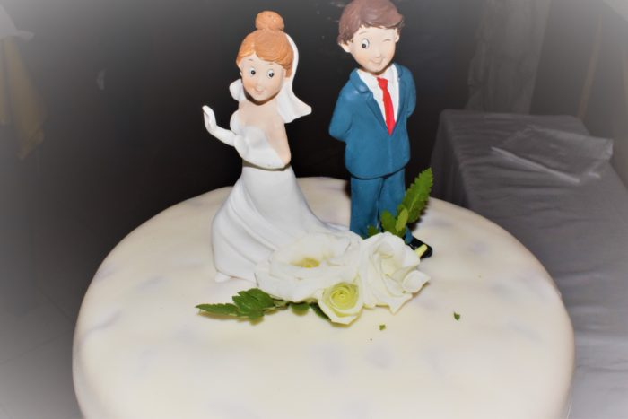 Top cake sposi