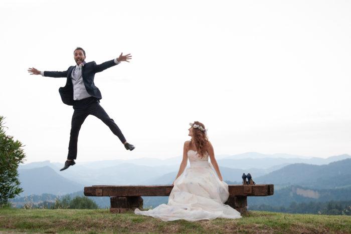 il volo dello sposo