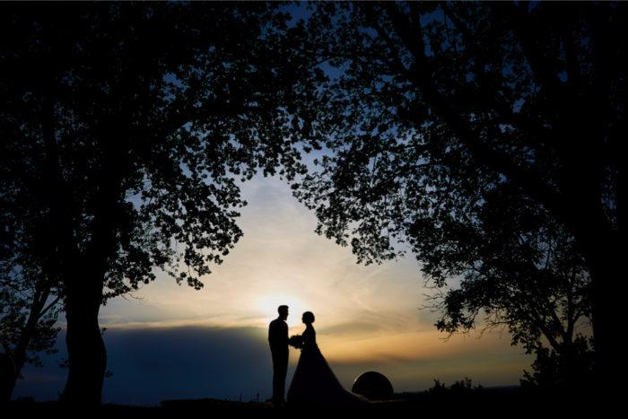 il primo tramonto insieme