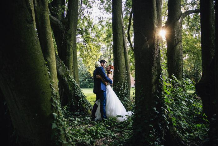 un bosco romantico