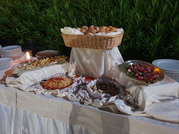 particolari buffet