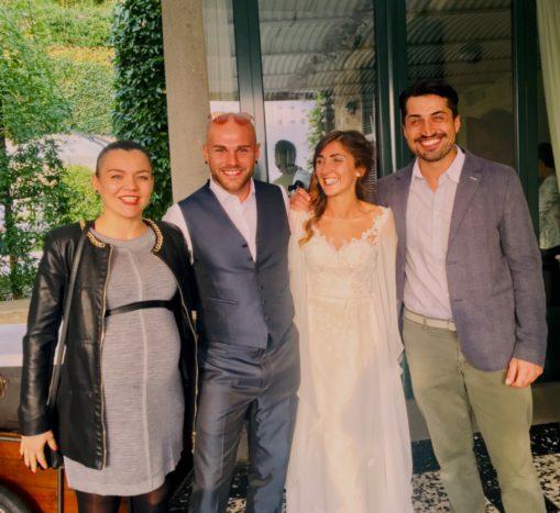 Con Ingrid e Matteo, 10/18