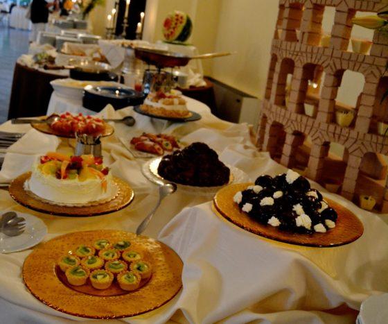 particolare buffet