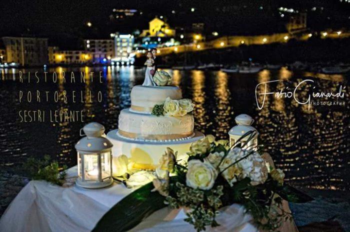 torta in riva al mare