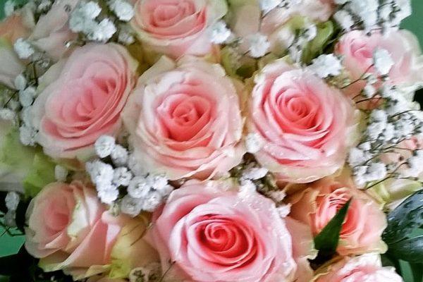 Bouquet a caduta